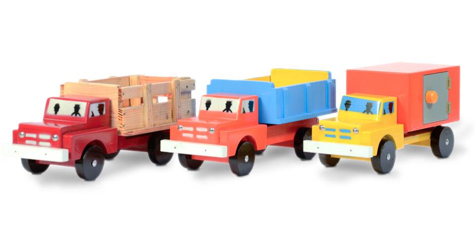 Camiones pequeños