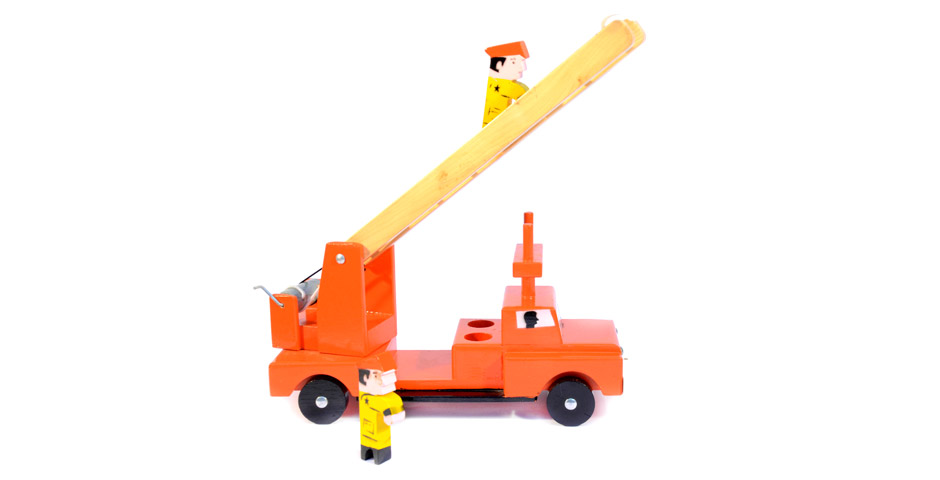 Carro bomberos (2 bomberos)