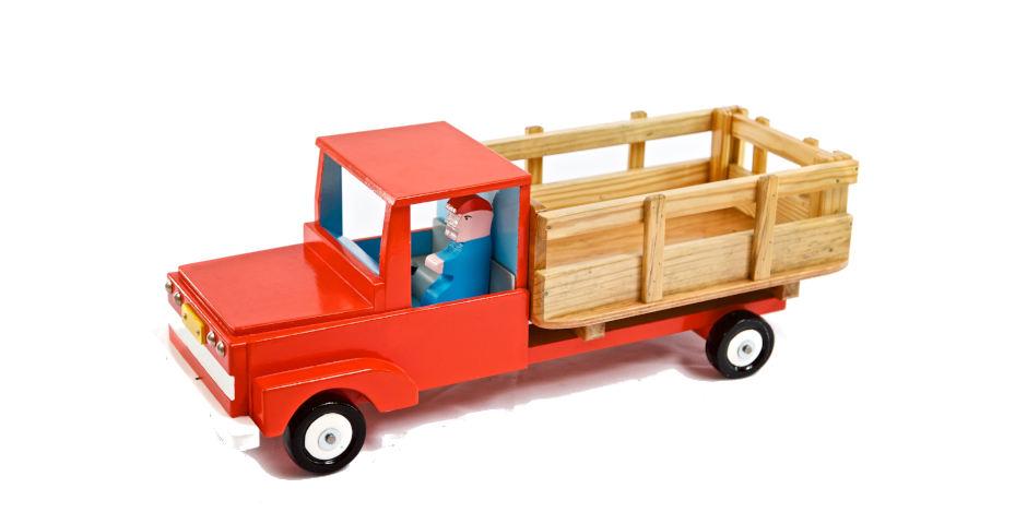 Camión baranda