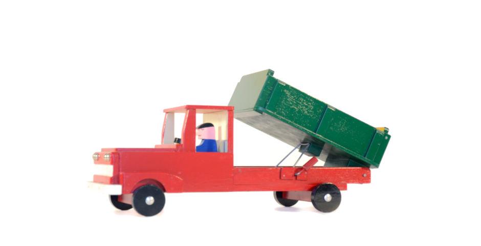 Camión volqueta
